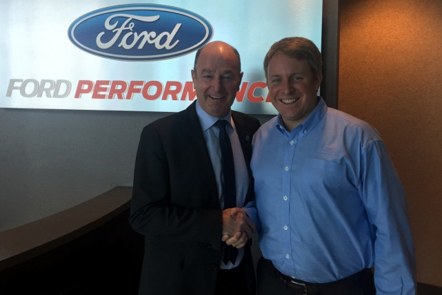 Un des dirigeants de Ford Performance, Henry Ford... (Courtoisie)