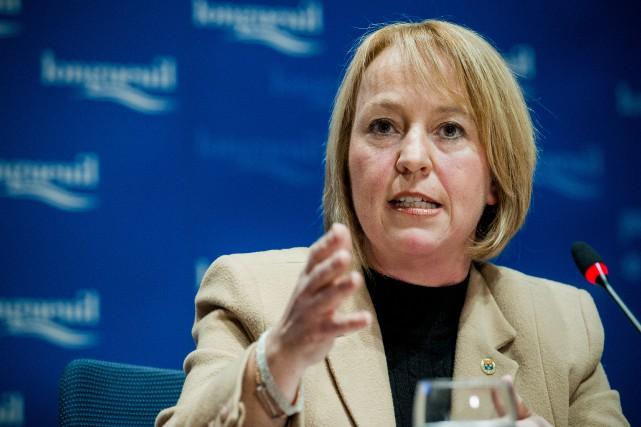 La mairesse de Longueuil Caroline St-Hilaire dénonce la... (PHOTO EDOUARD PLANTE-FRÉCHETTE, ARCHIVES LA PRESSE)