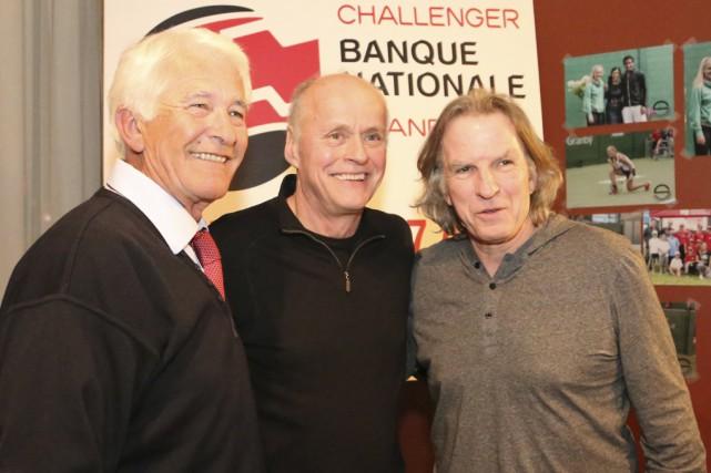 L'ancien joueur Réjean Genois sera le président d'honneur... (photo Christophe Boisseau-Dion)