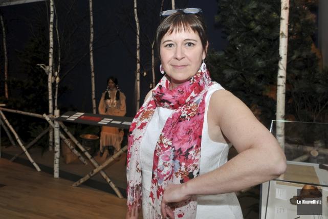 Michelle Bélanger quittera le Musée des Abénakis au... (Émilie O'Connor, Le Nouvelliste)