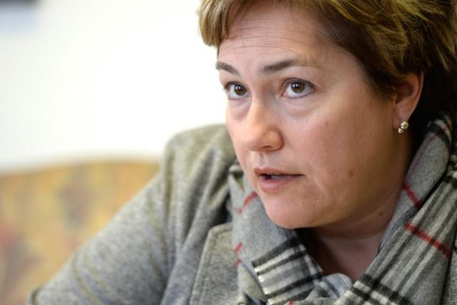 La responsable de la sécurité publique Anie Samson... (PHOTO BERNARD BRAULT, LA PRESSE)