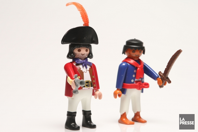 Playmobil a vendu plus de 2,8 milliards de figurines... (PHOTO MARTIN CHAMBERLAND, ARCHIVES LA PRESSE)