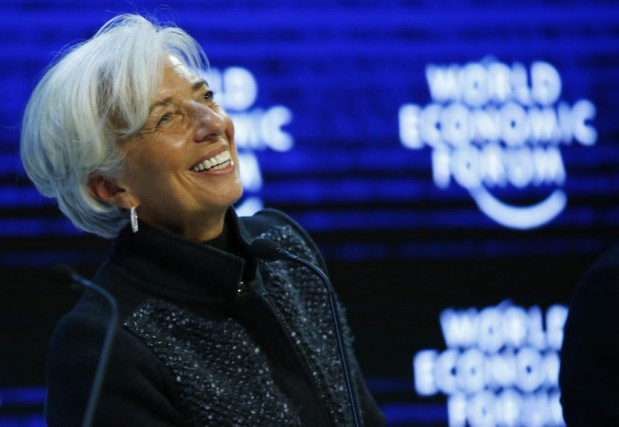 Christine Lagarde... (PHOTO RUBEN SPRICH, REUTERS)