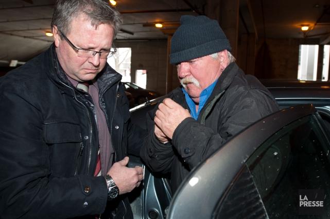 Le tristement célèbre Rénald Côté a été arrêté jeudi avant-midi par la police... (Spectre Média, Jessica Garneau)