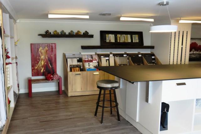 La nouvelle boutique déco d'Ébénisterie Lac-St-Jean sera inaugurée... (Courtoisie)