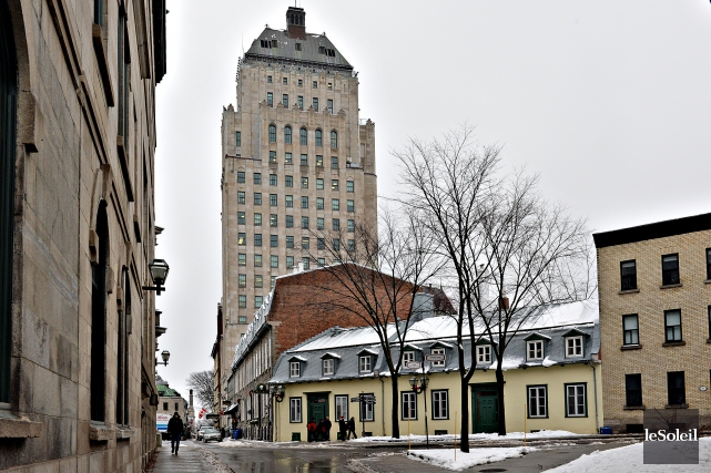 Le groupe financier québécois Industrielle Alliance, spécialisée notamment dans... (Photo Patrice Laroche, Archives Le Soleil)