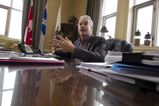 Bernard Sévigny confirme qu'il sollicitera un troisième mandat... (Spectre Média, René Marquis)