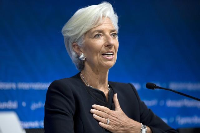La Française Christine Lagarde est virtuellement assurée d'être... (Archives Associated Press)