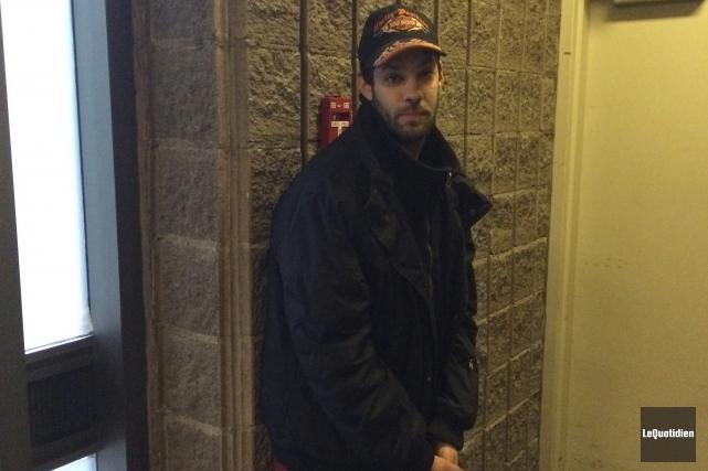 Mathieu Gagnon a été arrêté le 18 novembre... (Archives Le Quotidien)