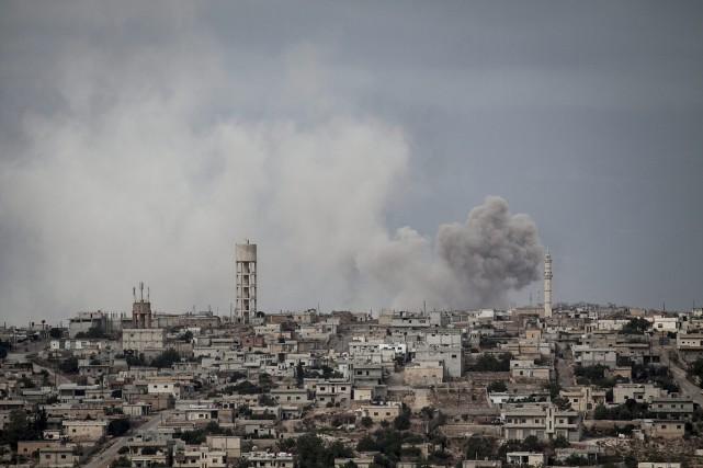 Depuis le début du conflit syrien, les camps... (Photo AP)