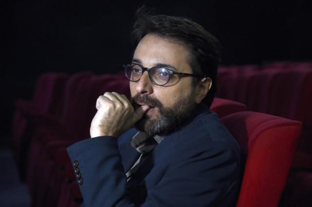 Le réalisateur tunisien Mohamed Ben Attia réalise avec... (Photo FETHI BELAID, AFP)
