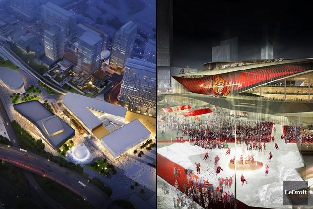La comparaison Ottawa-Gatineau devient encore plus outrageuse quand... (Photomontage LeDroit)