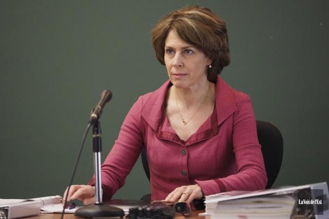 La juge administrative, Me Sylvie Piérard.... (Archives La Voix de l'Est)
