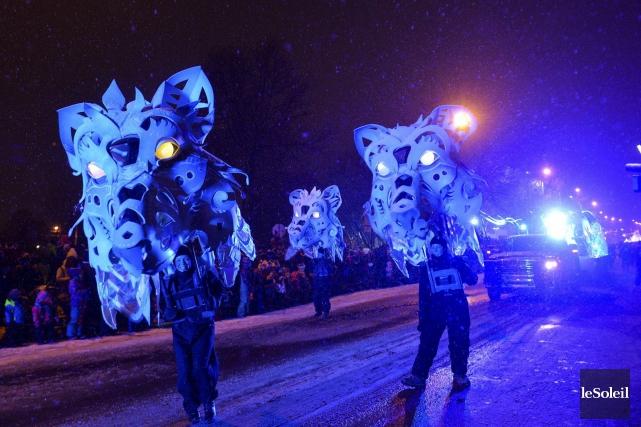 Évoquant la parade du Mardi Gras à La... (Photothèque Le Soleil, Caroline Grégoire)