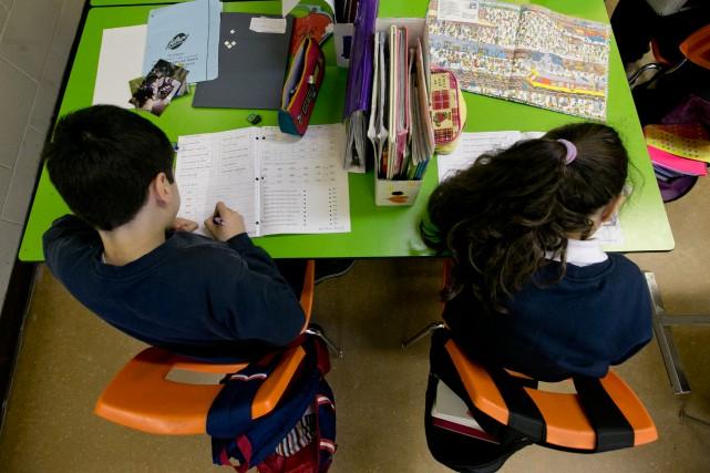 À la Commission scolaire de Montréal, depuis décembre,... (PHOTO DAVID BOILY, ARCHIVES LA PRESSE)