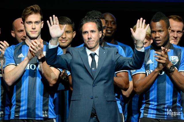 L'entraîneur de l'Impact Mauro Biello a reçu la... (Photo Bernard Brault, La Presse)