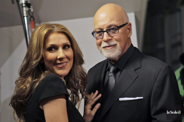 Céline Dion et René Angélil... (Photothèque Le Soleil, Associated Press)
