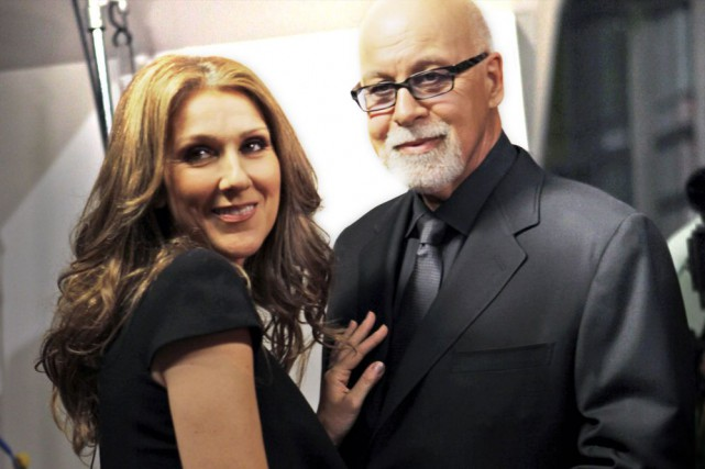 Céline Dion et René Angélil... (PHOTO ARCHIVES AP)