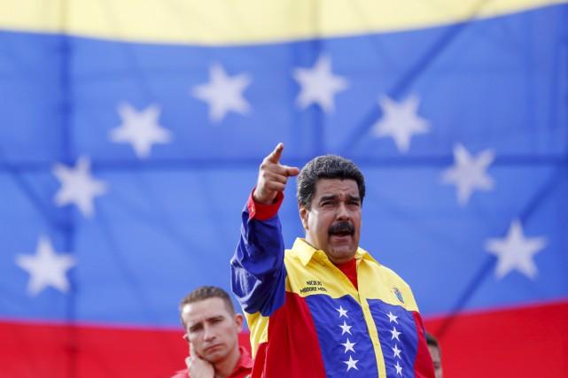 Le président vénézuélien Nicolas Maduro.... (PHOTO CARLOS GARCIA RAWLINS, ARCHIVES REUTERS)