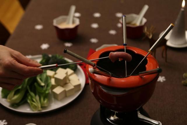 La fondue est le plat parfait pour une soirée pas compliquée et pas pressée. Il... (PHOTO THINKSTOCK)