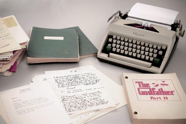 Plusieurs écrits de l'illustre auteur du Parrain, Mario Puzo, seront... (PHOTO AP)