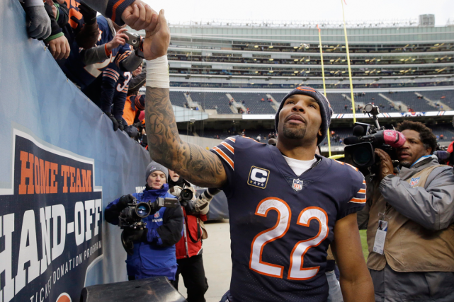Matt Forte s'est avéré l'un des demis offensifs... (Photo Nam Y. Huh, archives AP)