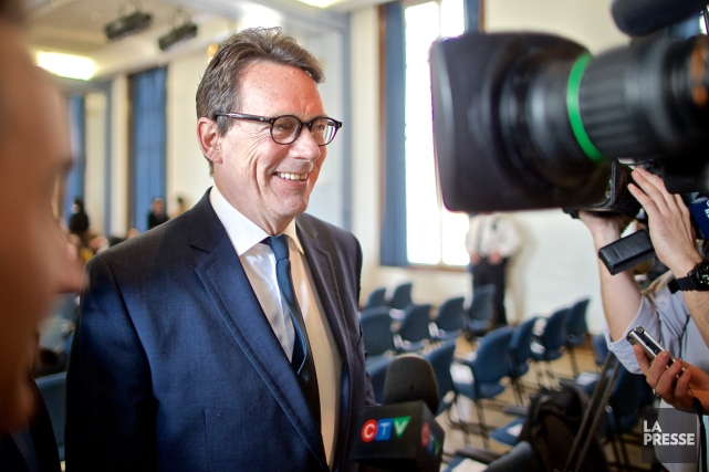 Le chef péquiste Pierre Karl Péladeau... (Photo André Pichette, La Presse)