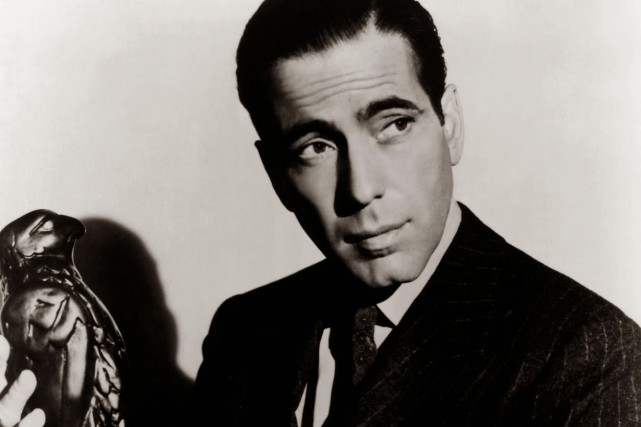 Humphrey Bogart dans The Maltese Falcon.... (PHOTO WARNER BROS.)