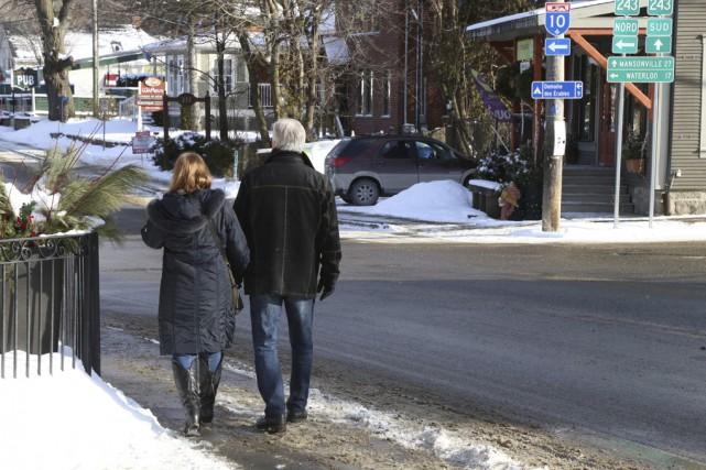 Près d'un citoyen sur trois est âgé de... (Photo Janick Marois)