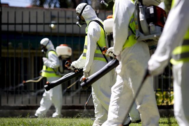 Quand un virus peu connu comme Zika se... (AP, Natacha Pisarenko)