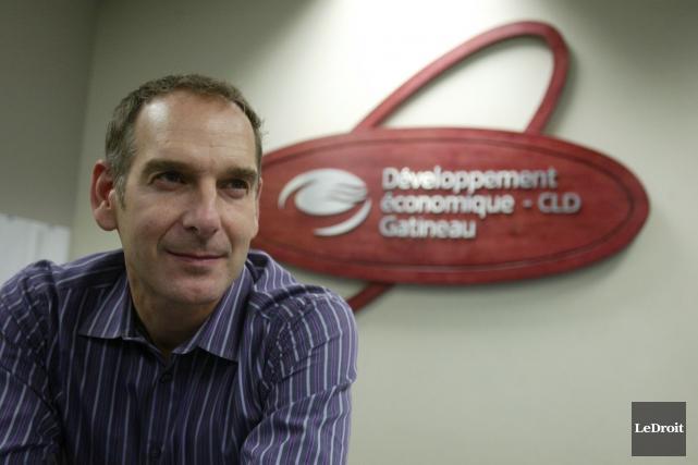 L'ancien directeur général de Développement économique-CLD Gatineau, Michel... (Patrick Woodbury, Archives Le Droit)