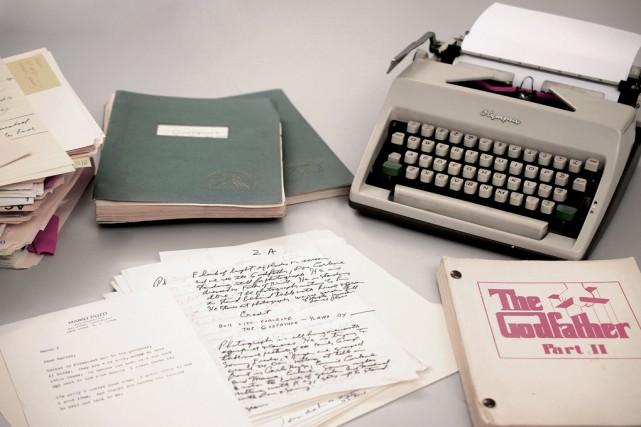 Les archives de l'auteur, qui sont regroupées dans... (RR Auction)