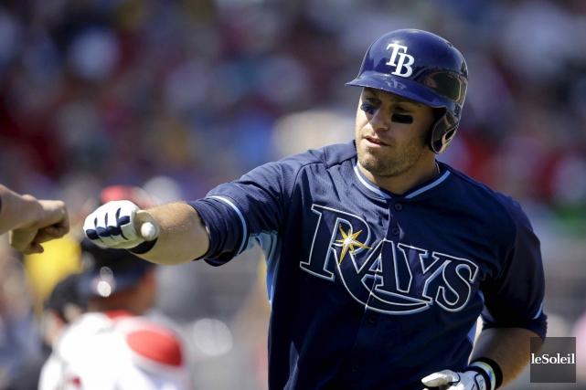 Evan Longoria et les Rays de Tampa Bay... (Photothèque Le Soleil)