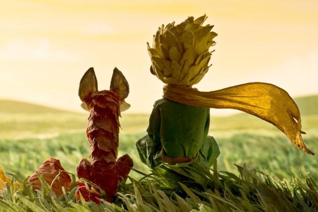 Image tirée du film Le Petit Prince, présentement... (PHOTO FOURNIE PAR LES FILMS SÉVILLE)