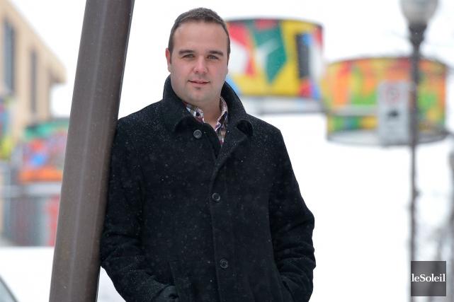 Marc-André Pâlin quitte la SDC Montcalm avec le... (Le Soleil, Yan Doublet)