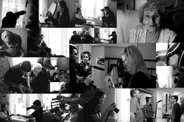 Stéphanie Gagné de la boîte Jim&Jane Productions de Jonquière est au coeur d'un... (Photomontage courtoisie)