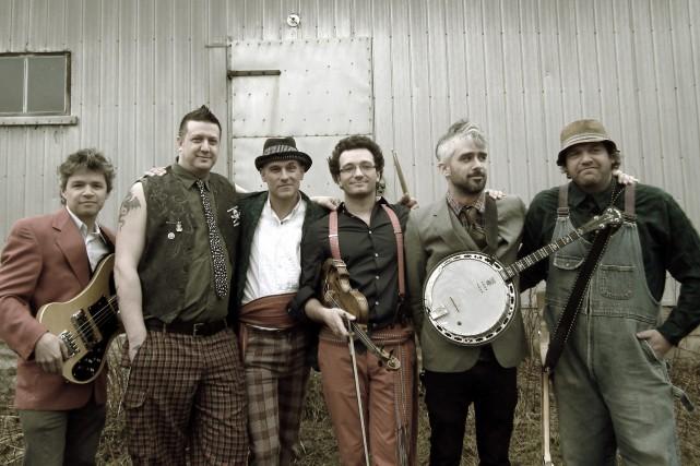 Le groupe Carotté jouera pour la première fois... (Photo courtoisie)
