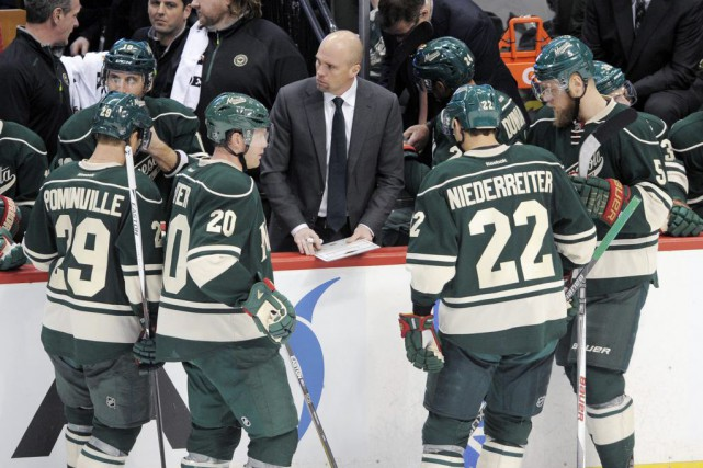Mike Yeo... (Photo Tom Olmscheid, AP)