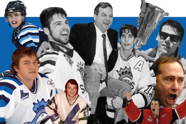 Dans la Ligue de hockey junior majeur du Québec depuis 1973, les Saguenéens... (Infographie Le Progrès-Dimanche)