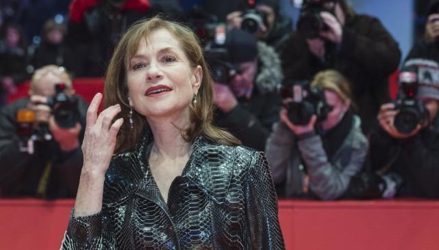 Isabelle Huppert... (AFP, John MacDougall)