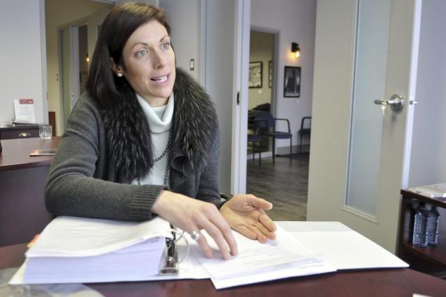 La députée néodémocrate de Jonquière, Karine Trudel, a... (Archives Le Quotidien, Rocket Lavoie)