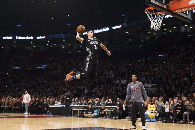 Zach LaVine... (PHOTO MARK BLINCH, PC)