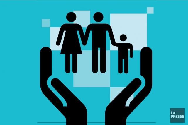 La Coalition pour la conciliation famille-travail-études presse le gouvernement... (Illustration La Presse)