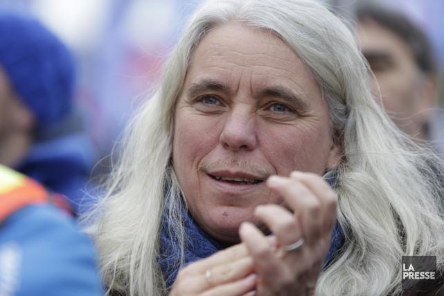 La députée solidaire de Sainte-Marie-Saint-Jacques, Manon Massé, est... (Photo archives La Presse)