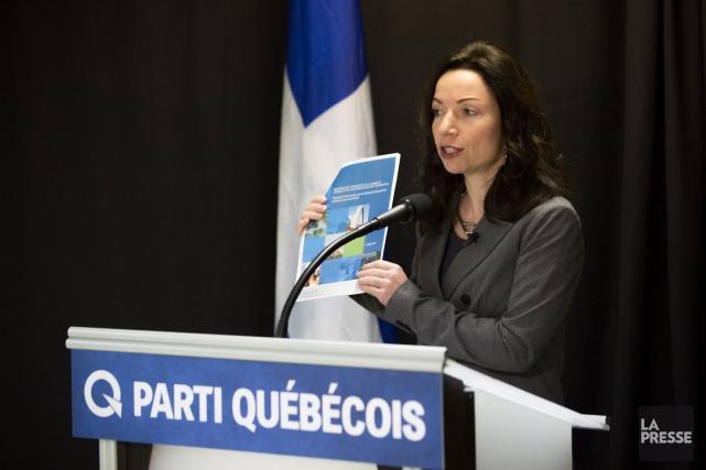 La porte-parole du Parti québécois en matière de... (La Presse, Olivier PontBriand)