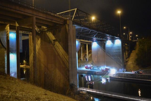 L'accident s'est produit à Södertälje, au sud de... (AFP, TT News Agency, JOHAN NILSSON)