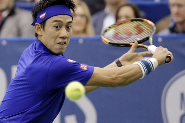 Kei Nishikori... (Photo Mark Humphrey, AP)