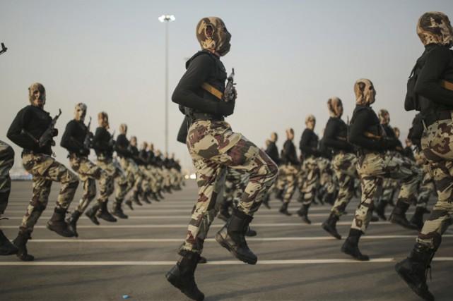 Des forces «spéciales» saoudiennes pourraient être déployées dans... (PHOTO AP)
