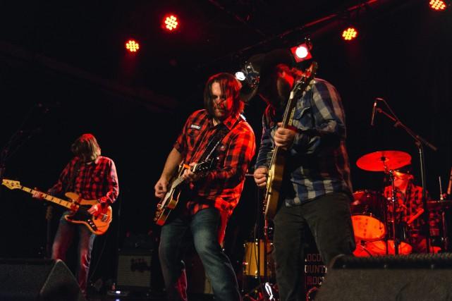 Les membres du Crocodile Country Rock étrenneront un... (Photo courtoisie)