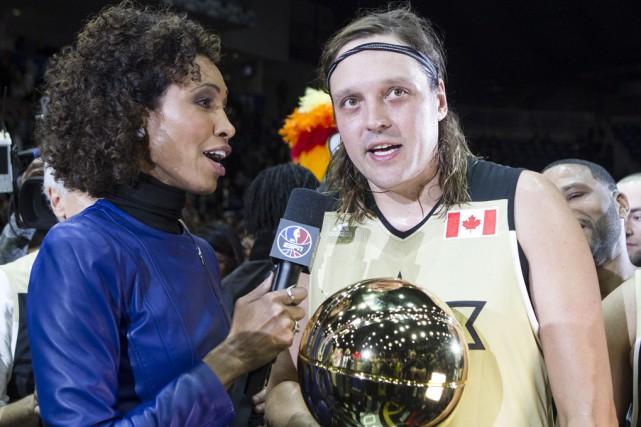 Sage Steele a demandé à Win Butler de... (La Presse Canadienne)